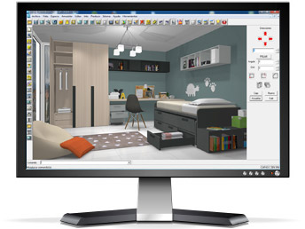 Monitor proyecto 3d muebles gil mart n for Programa para decorar interiores online